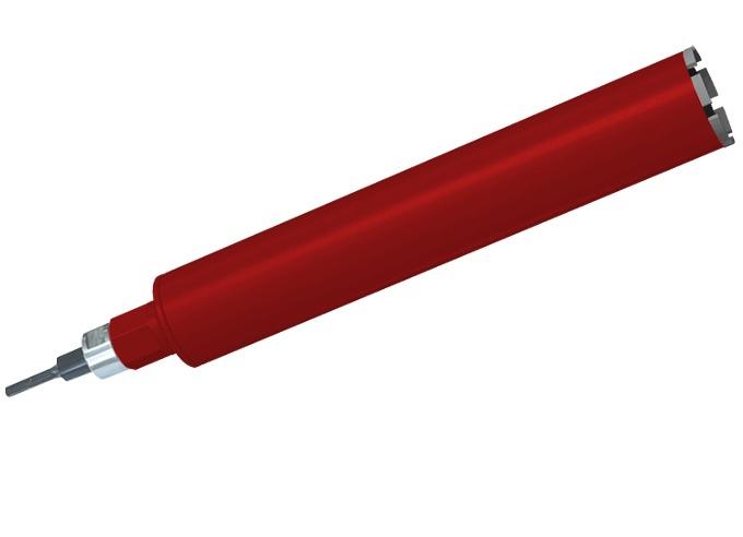 Алмазная коронка Адель 82 мм L 450 (сегм. 24 х 3,5 х 11)