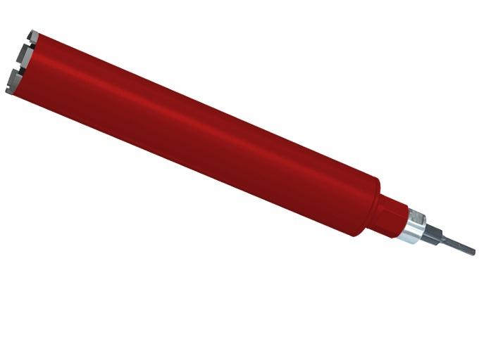 Алмазная коронка Адель 28 мм L 450 (сегм. 16 х 3,0 х 11)